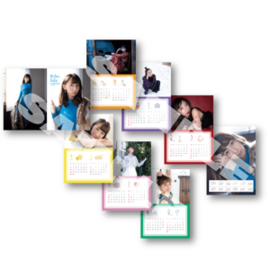 【ランダム生写真 特典付き】2018年スクールカレンダー2点セット(卓上+壁掛)